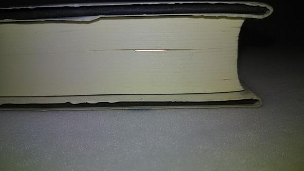 BOOK DARTS:本に挟んだ時